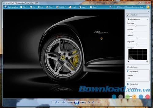 Windows Live-Fotogalerie 16.4.3503.0728 - Organisieren und bearbeiten Sie Fotos