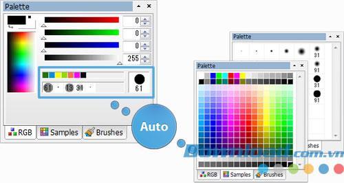 PictBear 2.04 - Fotobearbeitungs- und Mal-Software