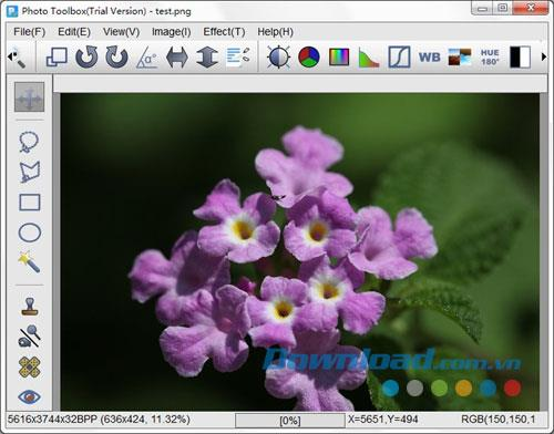 Photo Toolbox 1.12.3.1 - Fotobearbeitungssoftware
