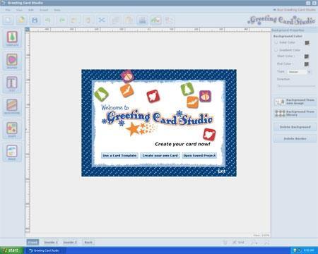 Greeting Card Studio - Logiciel de création de cartes de vœux
