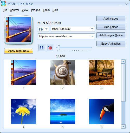 MSNスライドマックス