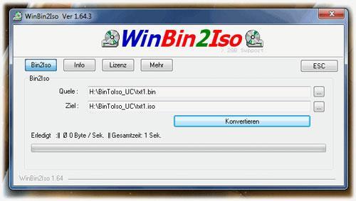 WinBin2Isoポータブル