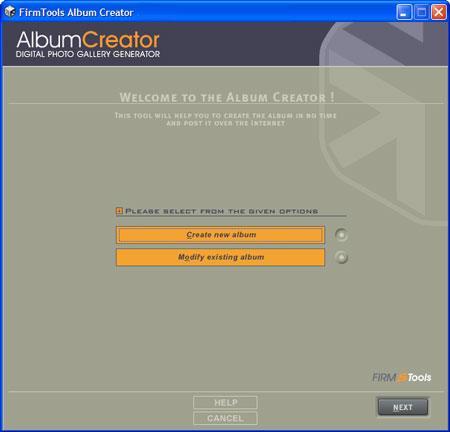 FirmTools Album Creator Lite