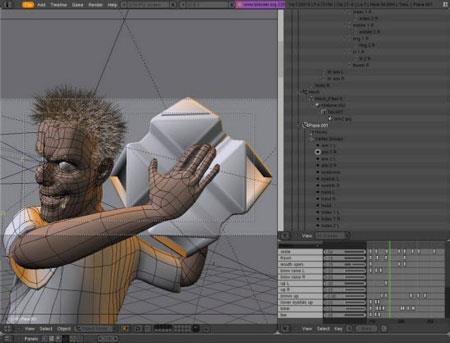 Blender Portable2.83-3Dグラフィックデザインソフトウェア