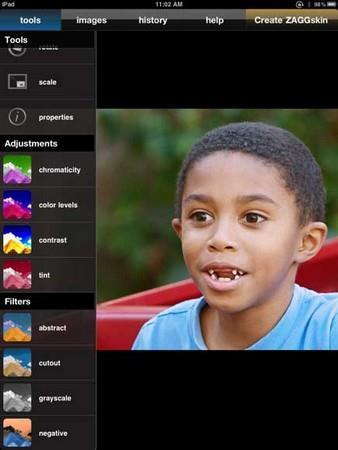 PhotoPad Image Editor für Pocket PC (Unix Sync)