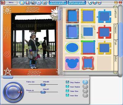 Photowall2.0.0.8-デジタルフォトフレームを作成する