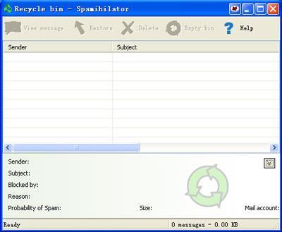 Spamihilator(64ビット)1.5-スパムをブロックするための無料ソフトウェア