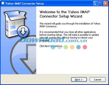 YahooIMAPコネクタ1.0.6-IMAPプロトコルのおかげでYahooメールにアクセス