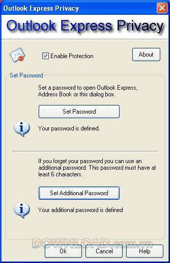 OutlookExpressのプライバシー