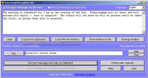 Easy Email Encryption Lite