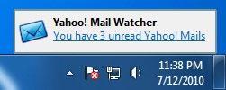 Yahoo!  Mail Watcher