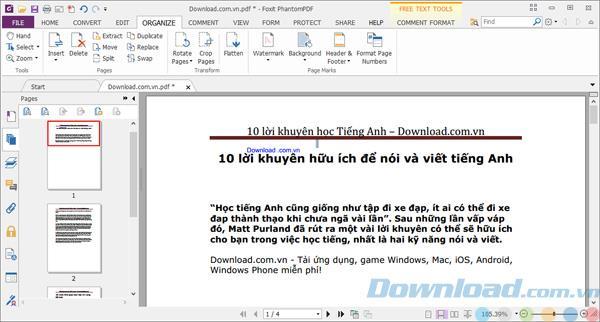 Foxit PhantomPDF Standard10.0-PDFファイルの作成と編集