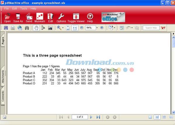 pdfMachine14.73-PDFファイルの作成と編集