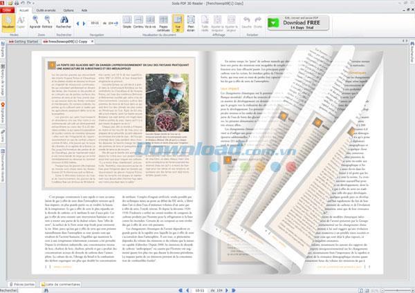 Soda PDF 3D Reader6.0.10.16430-3DスタイルでPDFファイルを読み取って作成する
