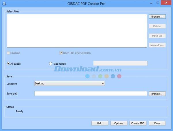 GIRDAC PDF Creator Pro20.2.2.3-プロフェッショナルなPDF作成ソフトウェア