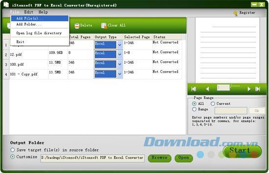 iStonsoft PDF to Excel Converter 2.1.9 - Konvertieren Sie PDF to Excel