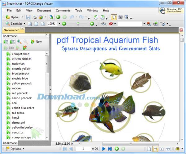 PDF-XChange Viewer 2.5.322.10 - PDF-Reader-Software für Computer