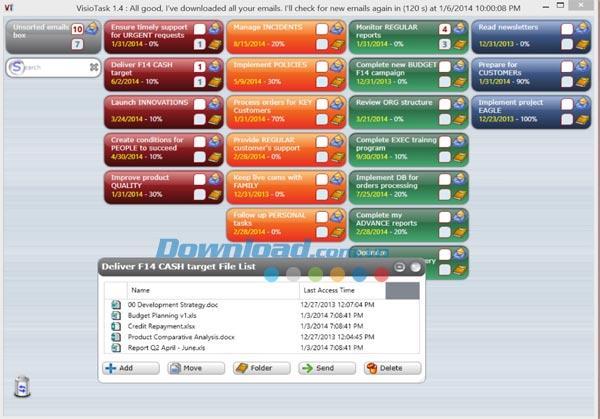 VisioTask 1.4.2.2 - Jobverwaltungssoftware