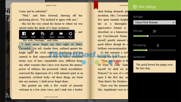 Bookviser for Windows 81.0-電子書籍を読むためのアプリケーション