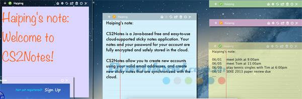CS2Notes2.1.1-メモを書くためのアプリケーション