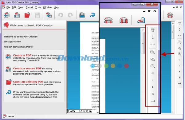Sonic PDF Creator3.0-PDF作成および編集ソフトウェア