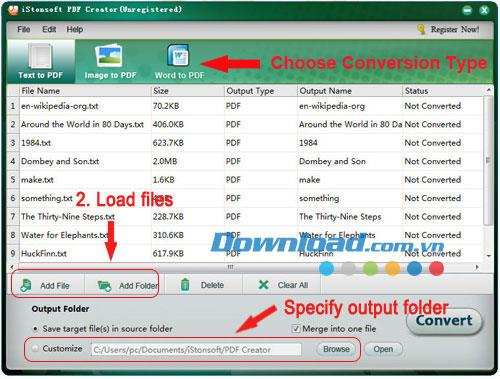 iStonsoft PDF Creator2.1.43-PDFファイルを作成するためのツール