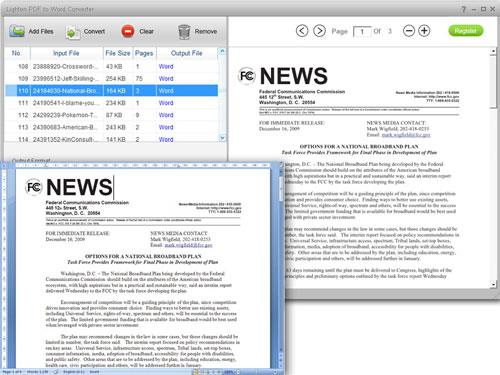 PDF to Word Converter2.0.0を軽量化-PDFをMicrosoftWordに変換
