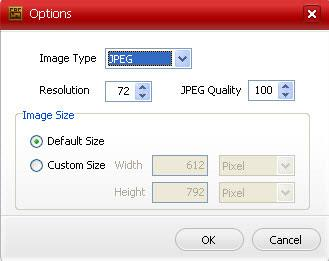 KvisoftPDFから画像へのコンバーター-PDFを画像に変換