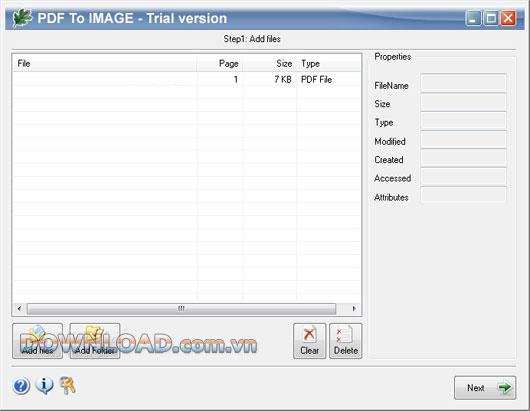 OakDoc PDF to IMAGEConverter-PDFを画像に変換