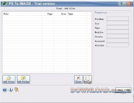 OakDoc PS to IMAGEConverter-PSを画像に変換