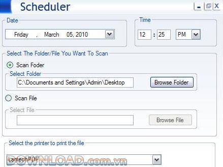 バッチファイル印刷-サポート複数のファイルを一度に印刷する