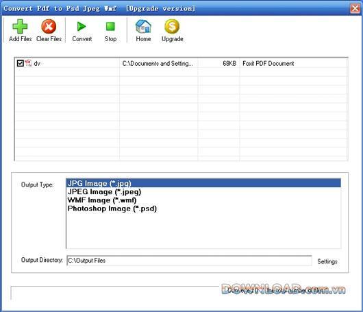 PdfをPsdJpeg Wmfに変換-PDFをPSD、JPEG、WMFに変換
