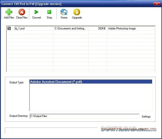 Tiff Psd in PDF konvertieren - TIFF, PSD in PDF konvertieren
