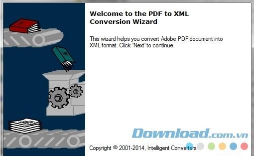 PDFからXML2.3-PDFをXMLに変換