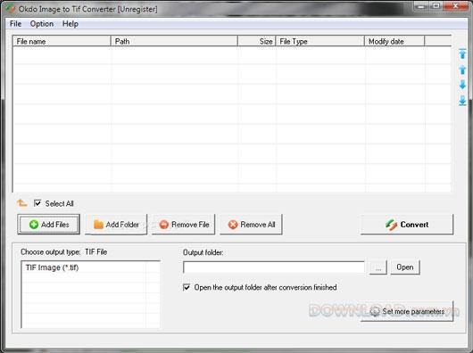 Okdo Image to TifConverter-画像をTiffに変換します