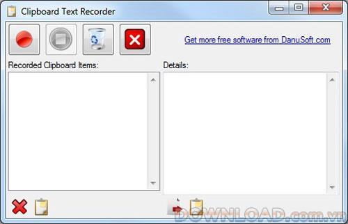 クリップボードテキストレコーダー-クリップボードマネージャー
