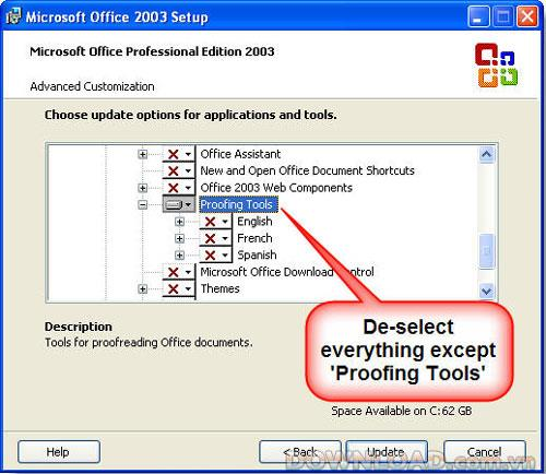 Microsoft Office Proofing Tools 2003 Service Pack 3-Office Proofing Tools2003用のSP3アップデートパック