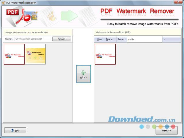 PDF透かしリムーバー-PDFの画像透かしを削除するユーティリティ