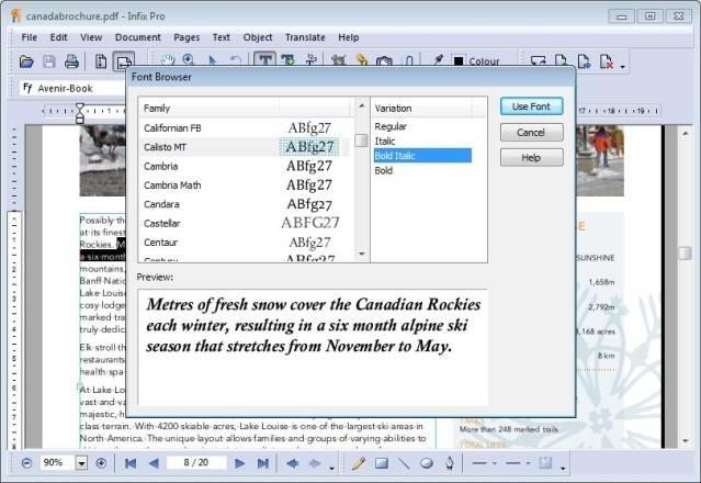 Infix PDF Editor7.5.1-最高のPDF編集ソフトウェア
