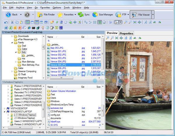 PowerDesk Pro 8.2 - Anwendung für eine effektive Dateiverwaltung