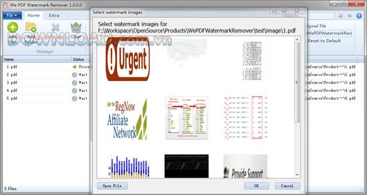 私たちはPDF透かしリムーバー6.3.0-PDFファイルの透かしを削除するソフトウェア