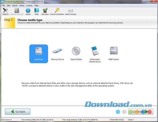 Ontrack EasyRecovery Professional 10.1.0.1 - Professionelle Datenwiederherstellungssoftware