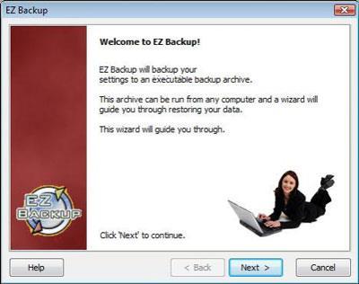EZ Backup Outlook Pro 6.4 - Sichern von Microsoft Outlook-Inhalten