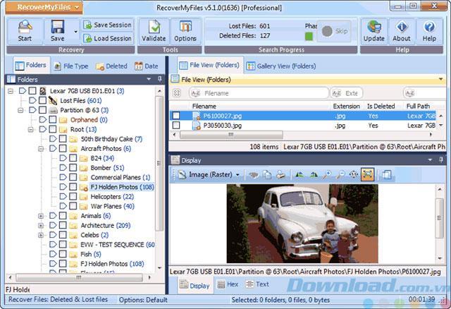 Meine Dateien wiederherstellen 6.3.2.2552 - Daten wiederherstellen