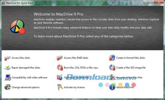 MacDrive Pro 9.0.5.14 - Dateien zwischen Mac- und Windows-Laufwerken freigeben