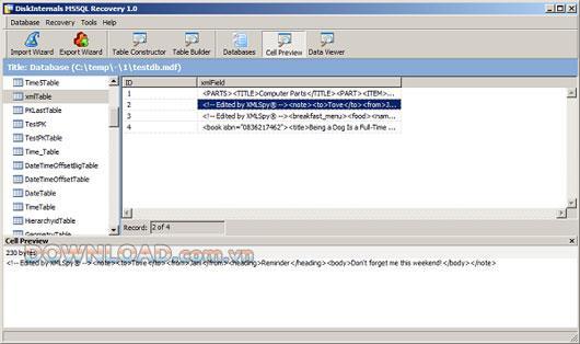 Diskinternals MySQL Recovery - Wiederherstellung der MySQL-Datenbank