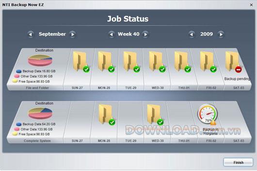 NTI Backup Now EZ - Sichern und Wiederherstellen von Daten
