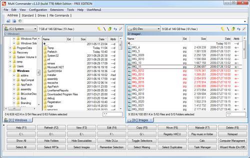 Multi Commander (32-Bit) - Ein neuer, praktischer und vielseitiger Dateimanager