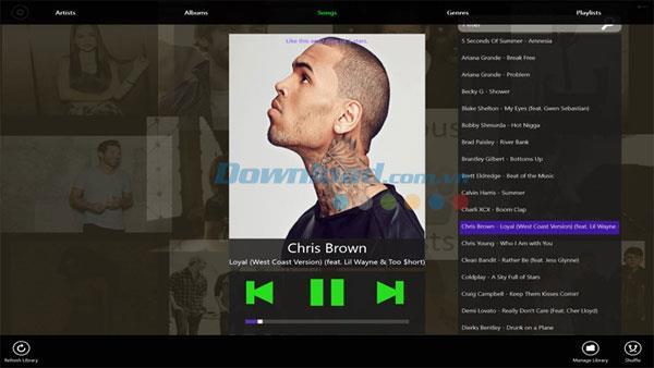 Einfacher Musik-Player für Windows 8 33 - Kompakter Musik-Player für Windows 8