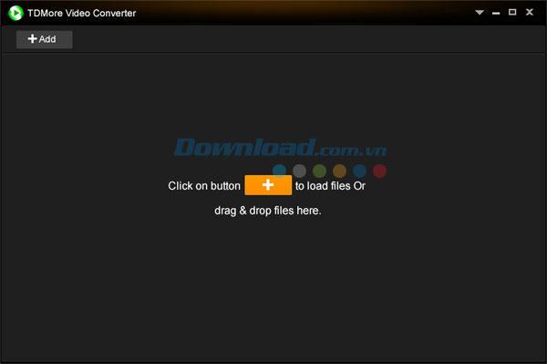 TDMore Video Converter 1.0 - Konvertieren Sie Videoformate